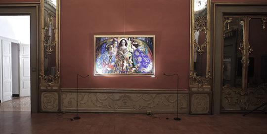 ARTE Sala degli Specchi per Olga Suvorova Russiart