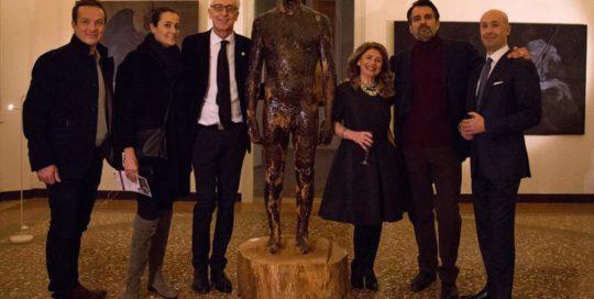 Aron Demetz, Roberta Capu,a Matteo Pugliese Claudio Proietti